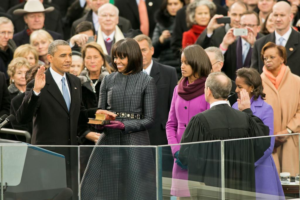 Inauguration: Obama makes history again