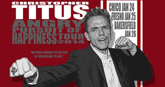 Comedian Christopher Titus visits Bakersfield's Fox Theater