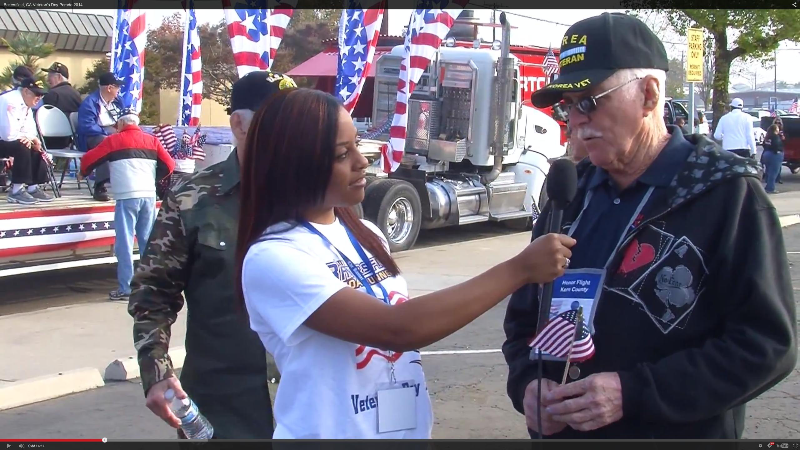 Bakersfield Veteran's Day Parade 2014