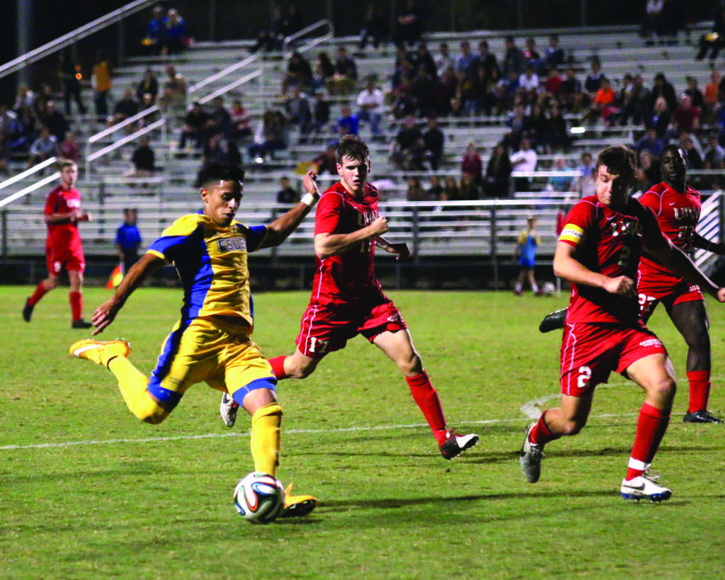 CSUB+redshirt-junior+forward+Julian+Zamora+led+the+team+in+goals+last+year+with+12.+%0APhoto+from+The+Runner+Archives+