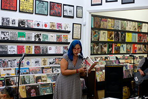 Punk legend rocks downtown record store with newest book and band
