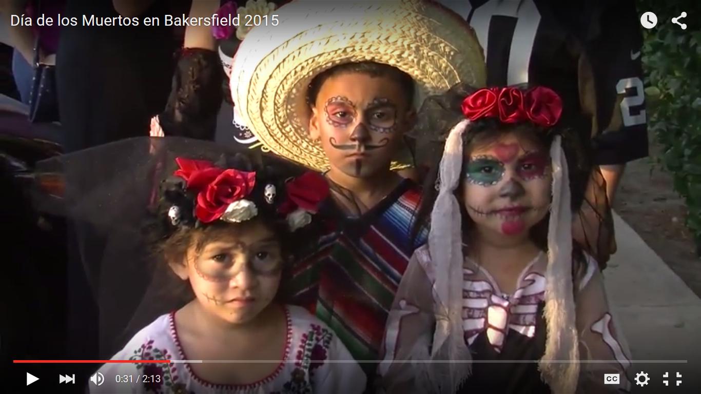 Día de los Muertos en Bakersfield 2015