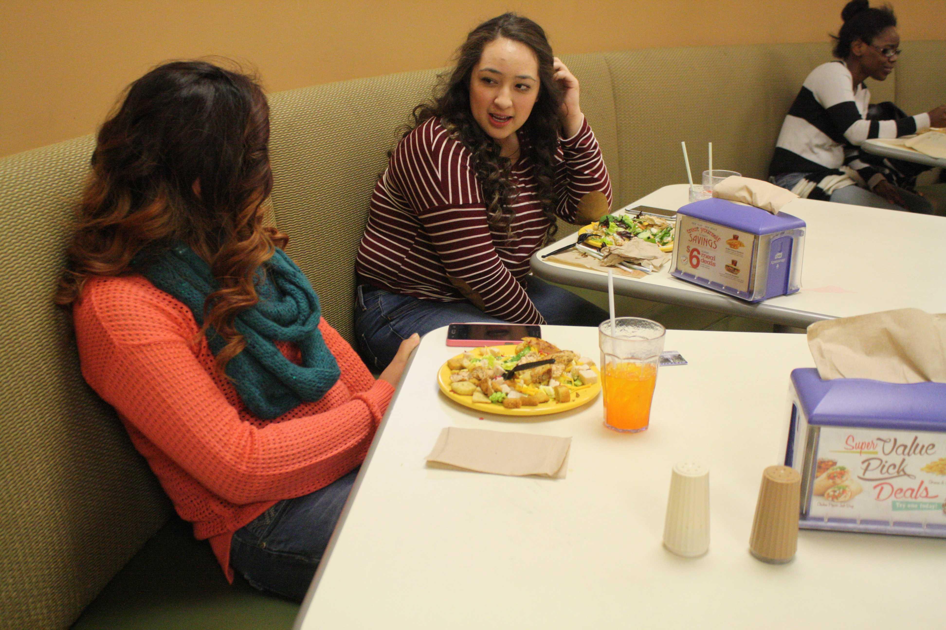 Students discuss diet options, food service responds