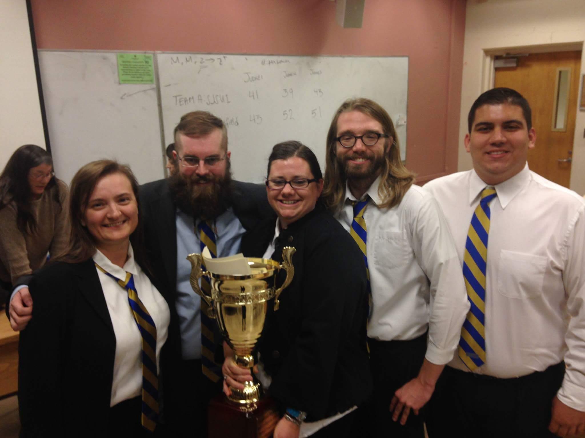 CSUB ethics team takes gold