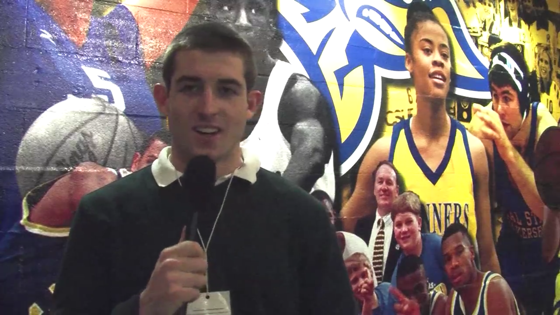 CSUB Men's Wrestling Interview with Reuben Franklin