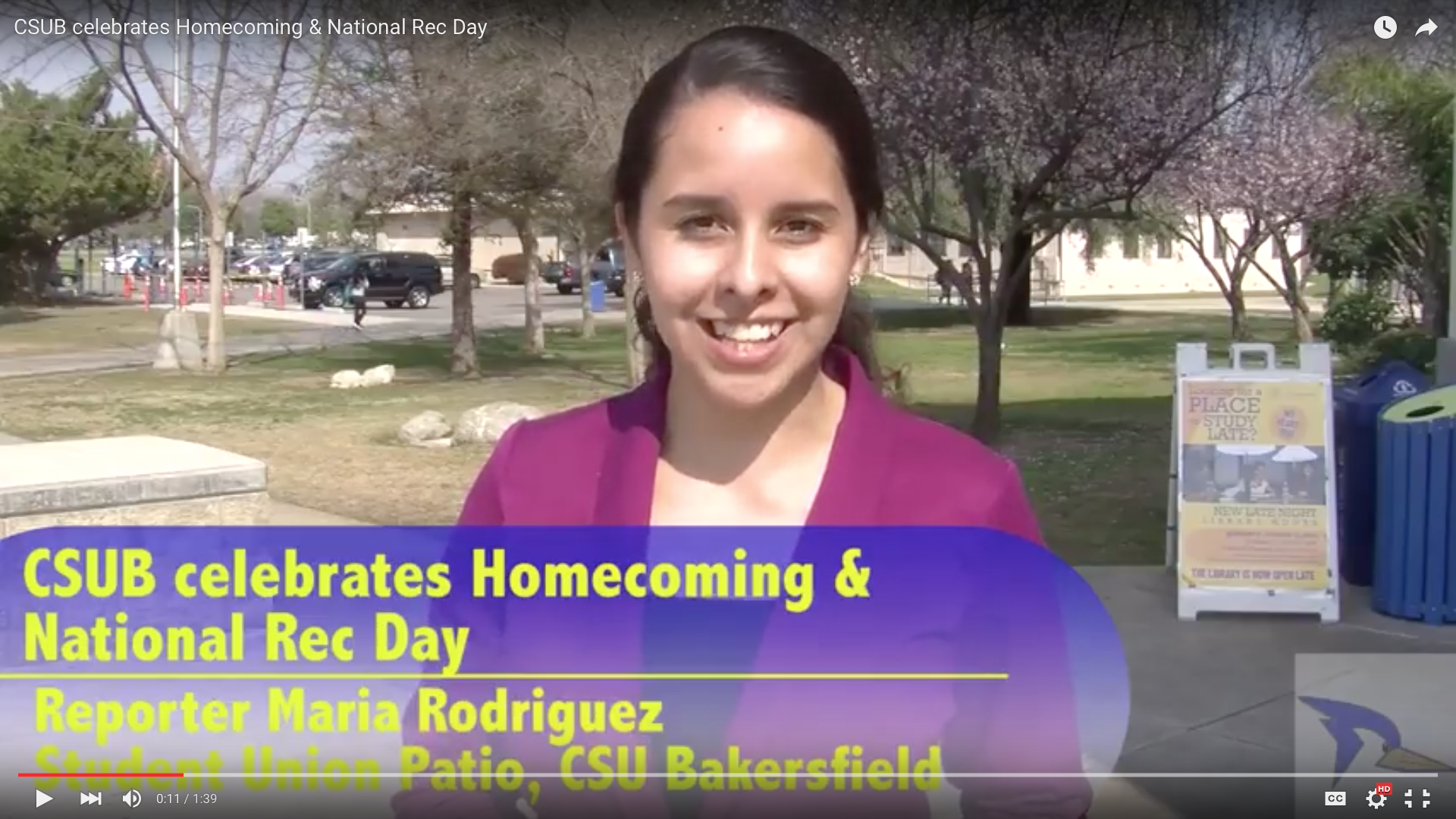 CSUB celebrates Homecoming & National Rec Day