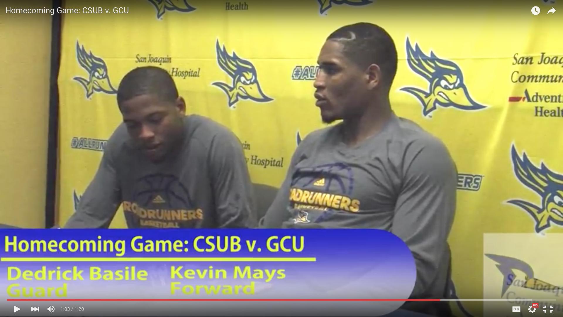 Homecoming Game: CSUB v. GCU