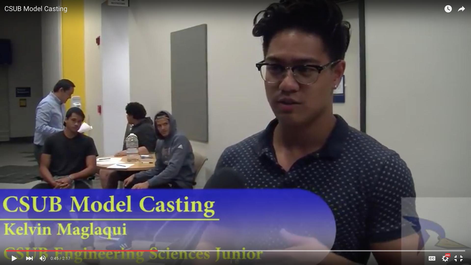 CSUB Model Casting