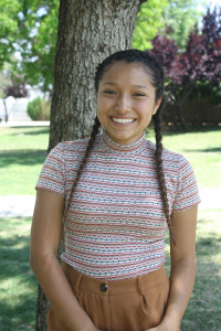 "Denise Chavez, freshmen, English ""Honestly, I feel that we would just waste it [money] on something else… so it's not a big deal. It has something to do with school so it's for a good cause."""