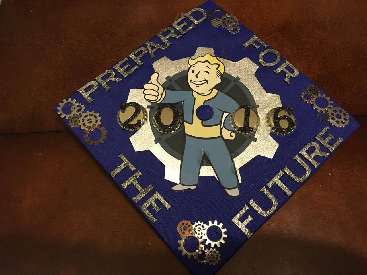 Caps off to our 2016 graduates