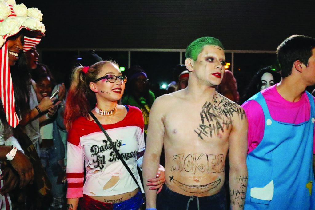 CSUB+students+dress+up+as+Joker+and+Harley+Quinn+at+the+Runner+Nights+Haunted+Vegas+event+on+Oct.+29.+%0APhoto+by+Javier+Valdes%2FThe+Runner