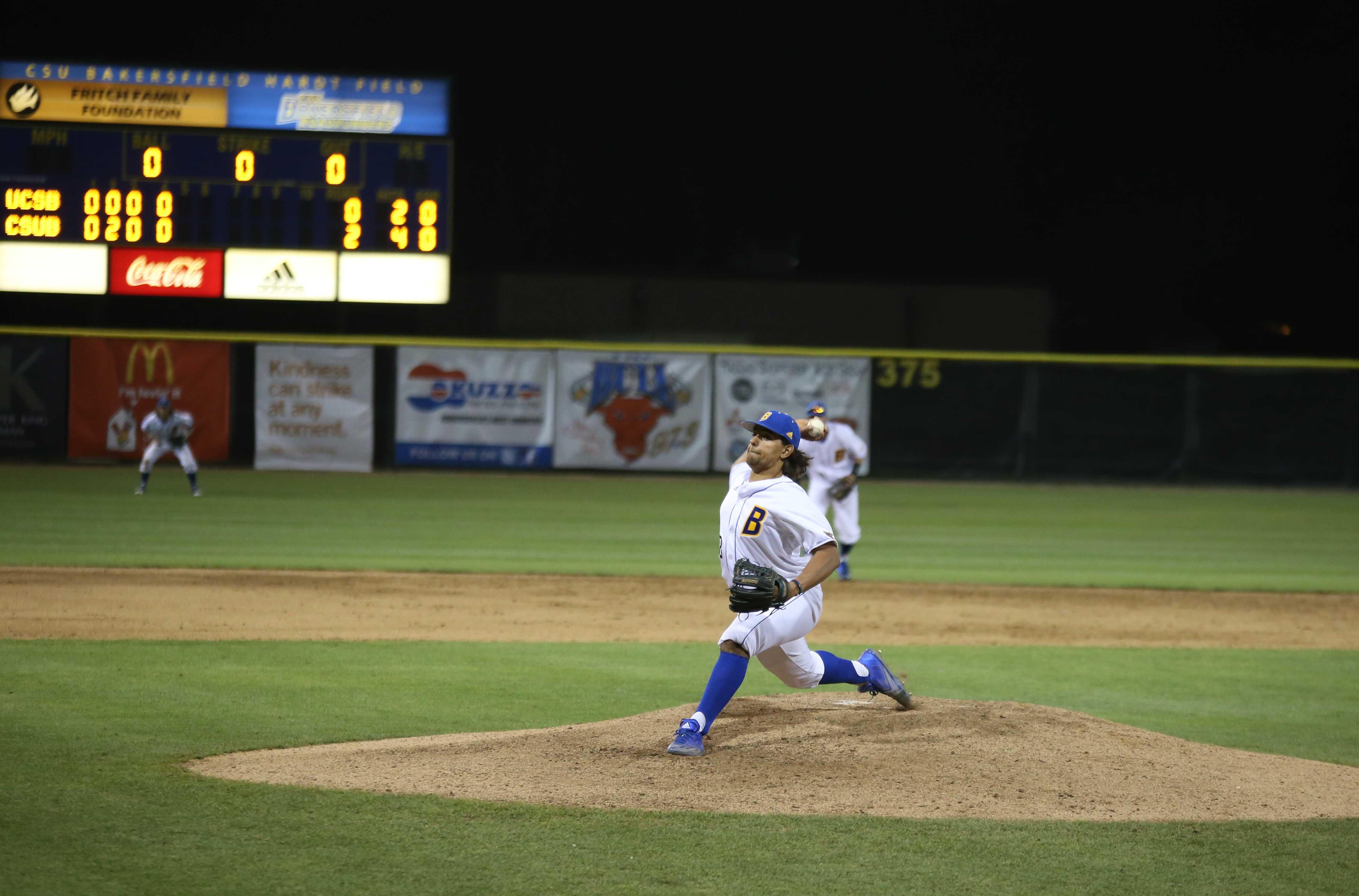 Roadrunners defeat UC Santa Barbara in pitcher's duel