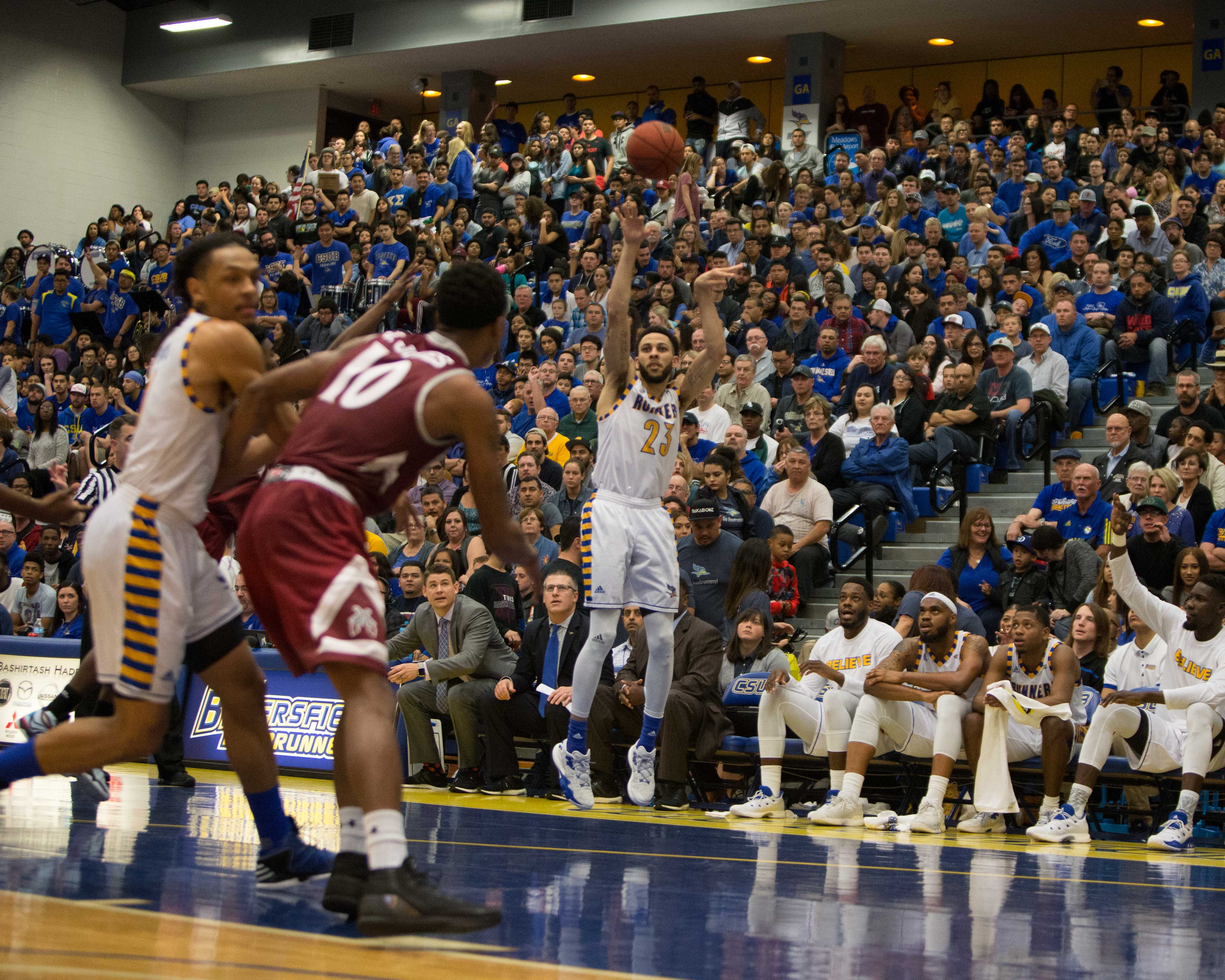 CSUB routs New Mexico State to snap Aggies 20-game win streak