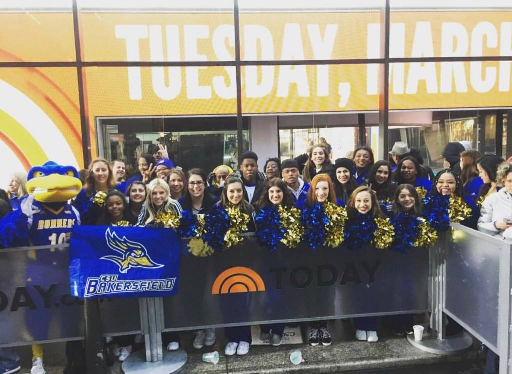 CSUB brings spirit to Today Show