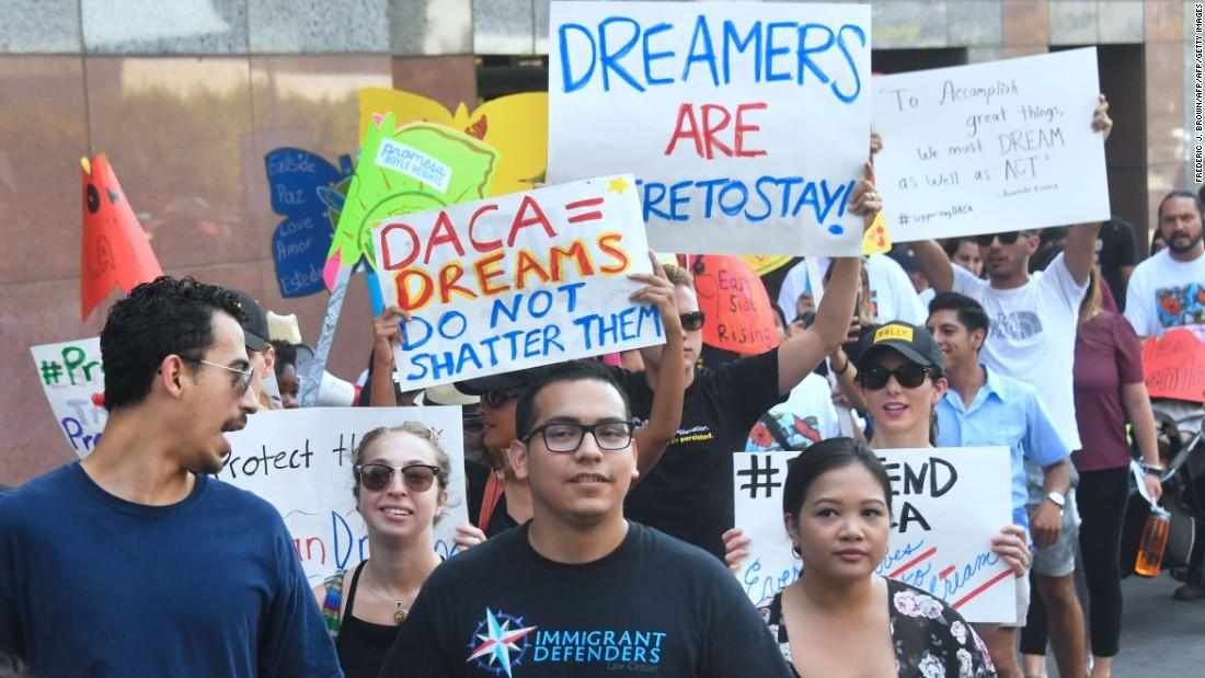 DACA rescinded by Trump administration