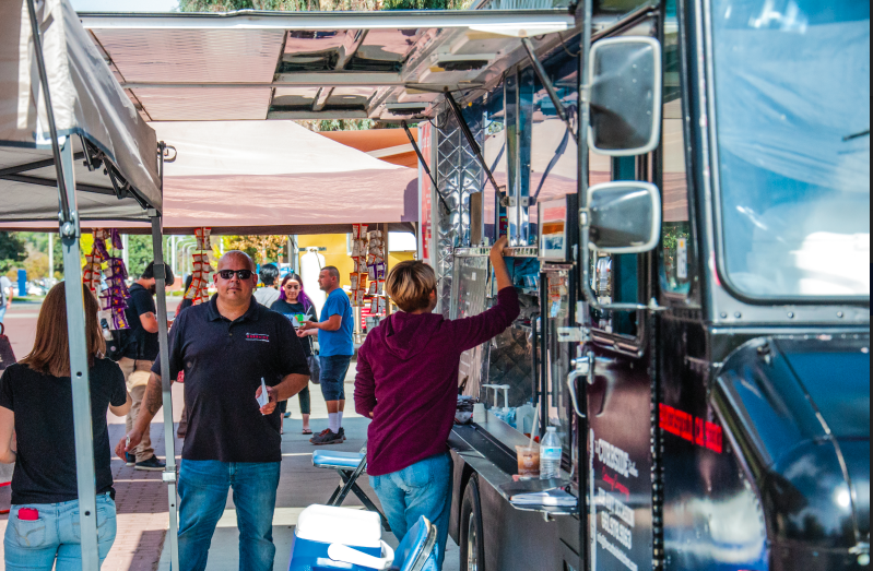 Food truck is not being kicked to the curb
