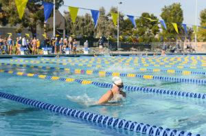 Roadrunner swimmers top UC Santa Cruz at home