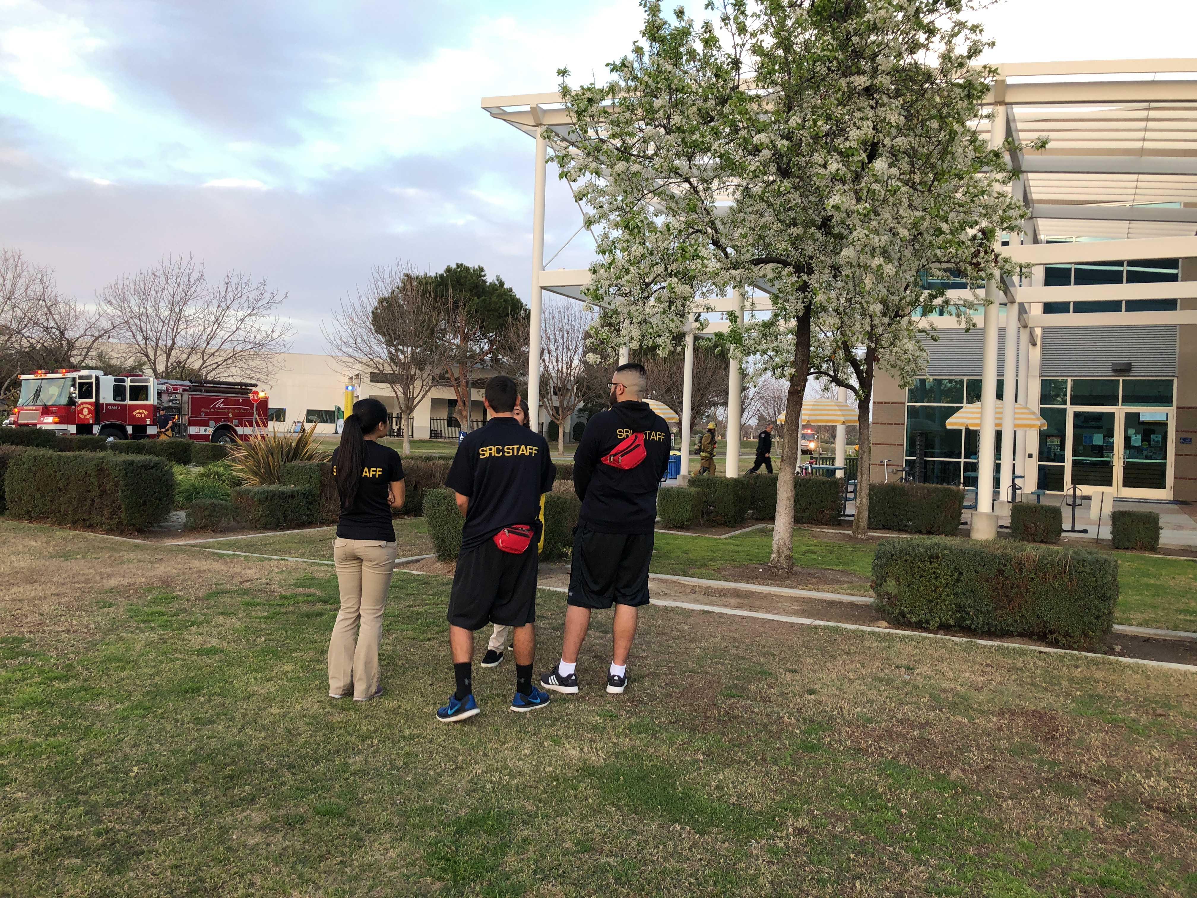 Fire alarm set off at SRC