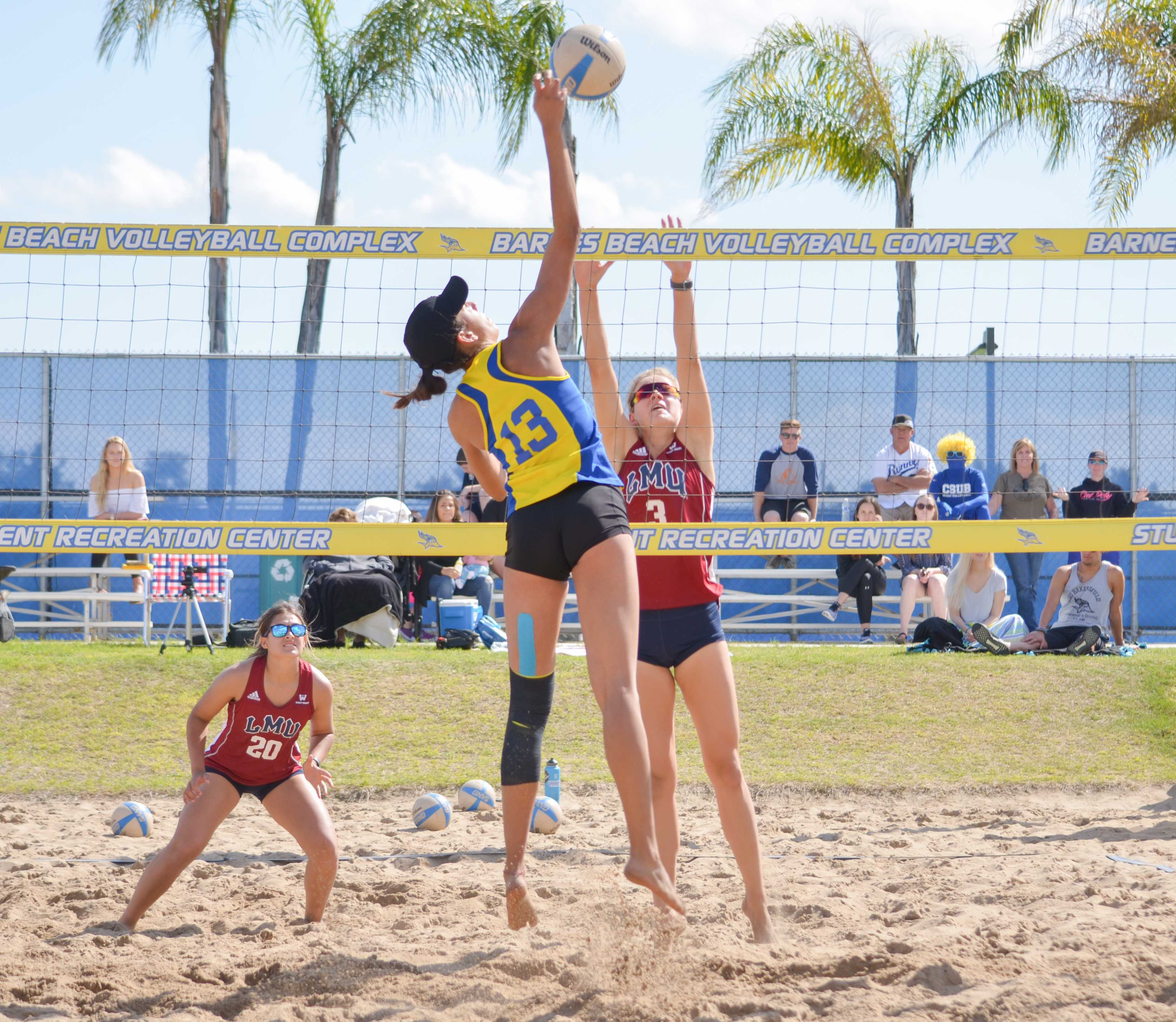 CSUB struggles in the sun and sand