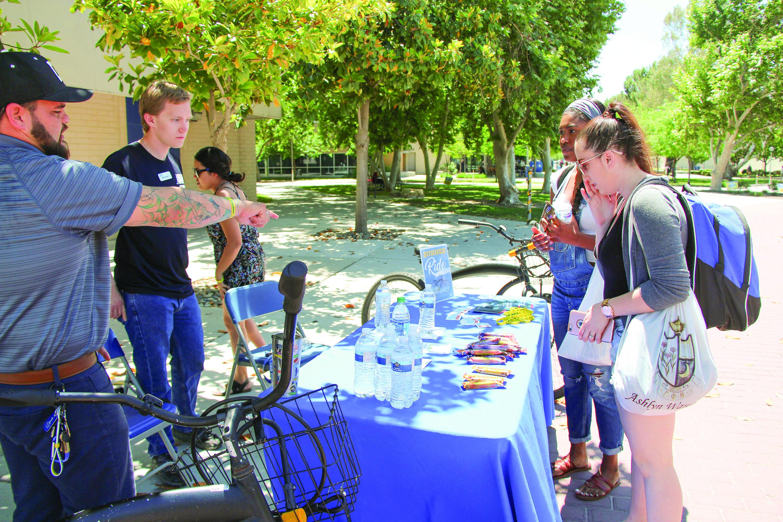 National Bike Day was celebrated at CSUB