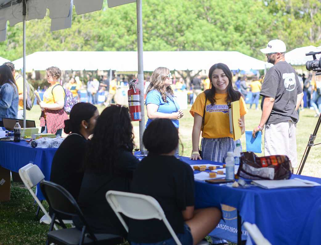 There was something for everyone at the Celebrate CSUB event