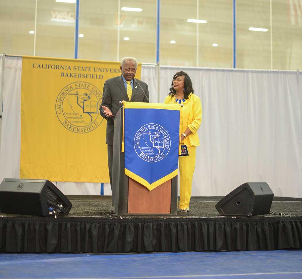 CSUB honors President Mitchell