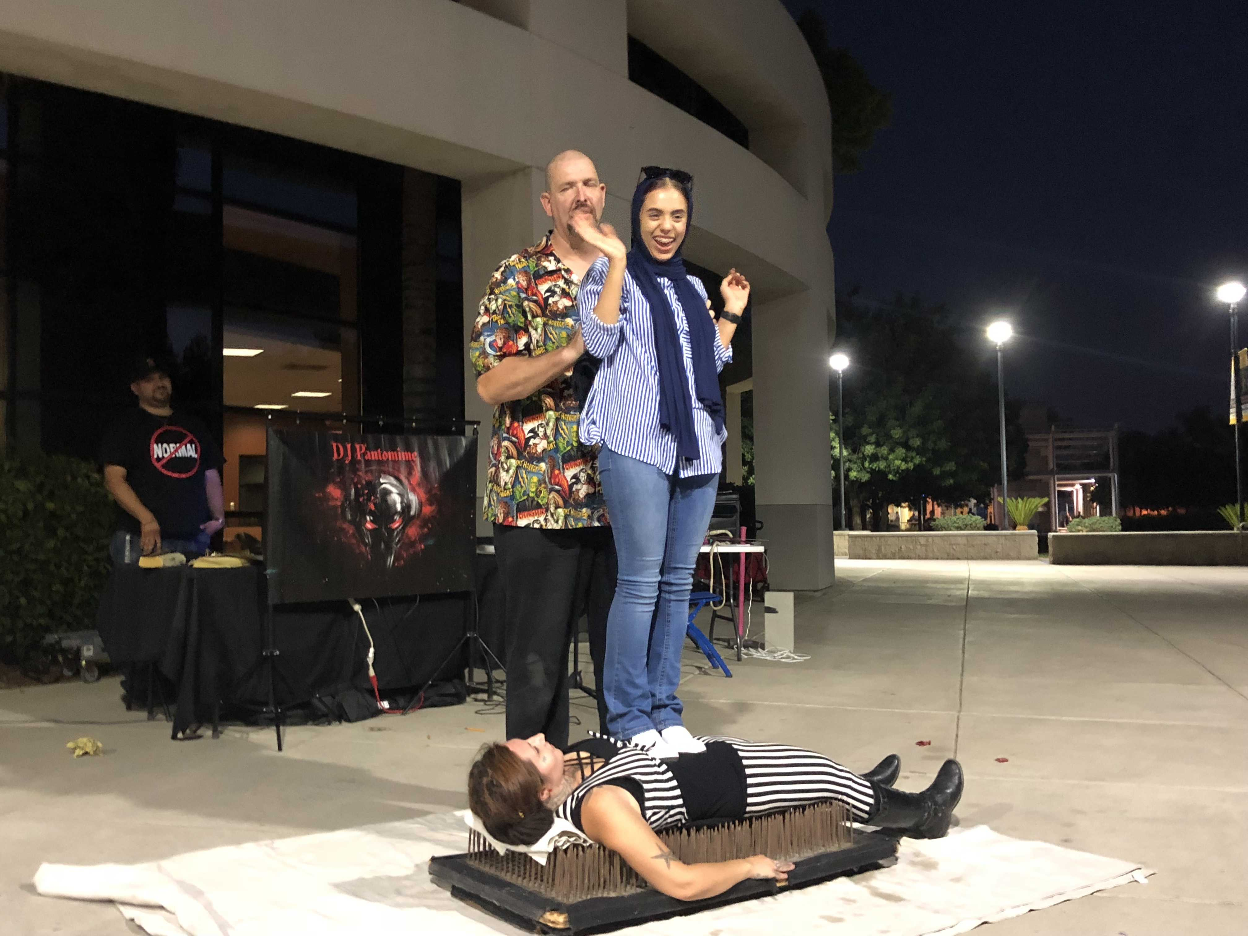 Sideshow at Student Union leaves students shocked