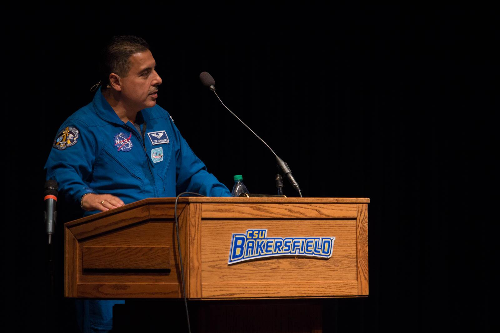 Migrant farmworker turned astronaut inspires CSUB