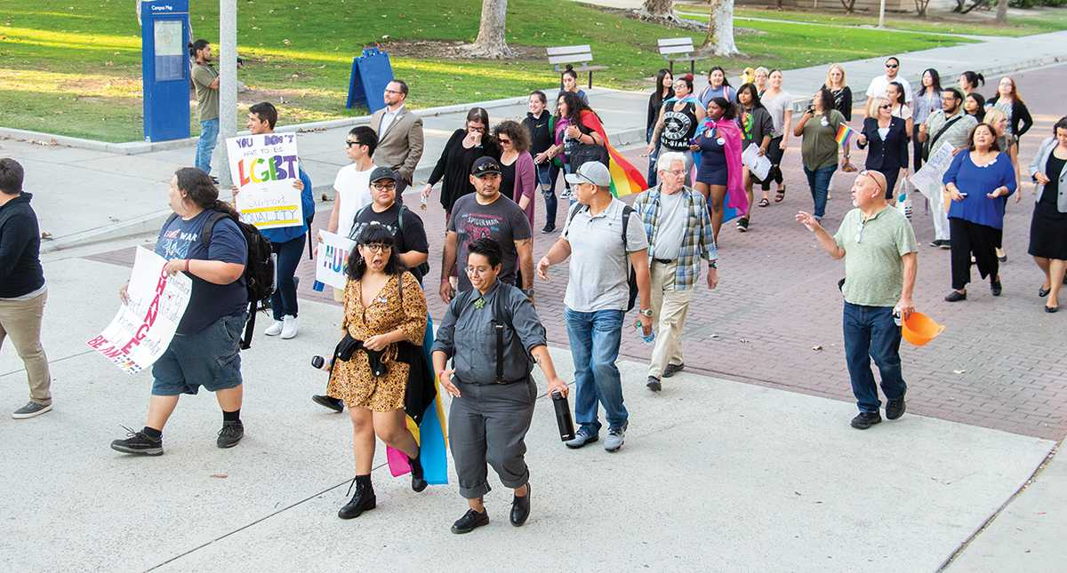 Being gay is OK at CSUB