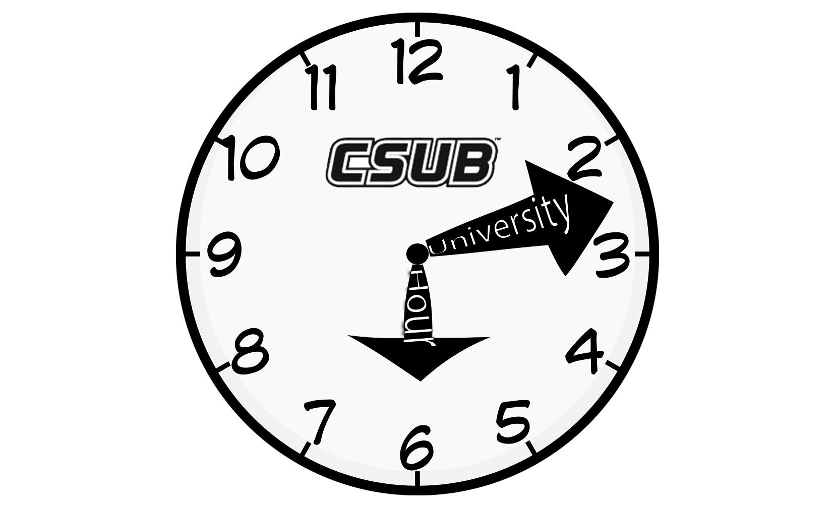 CSUB May Designate an Hour Specifically for Student and Staff Interaction