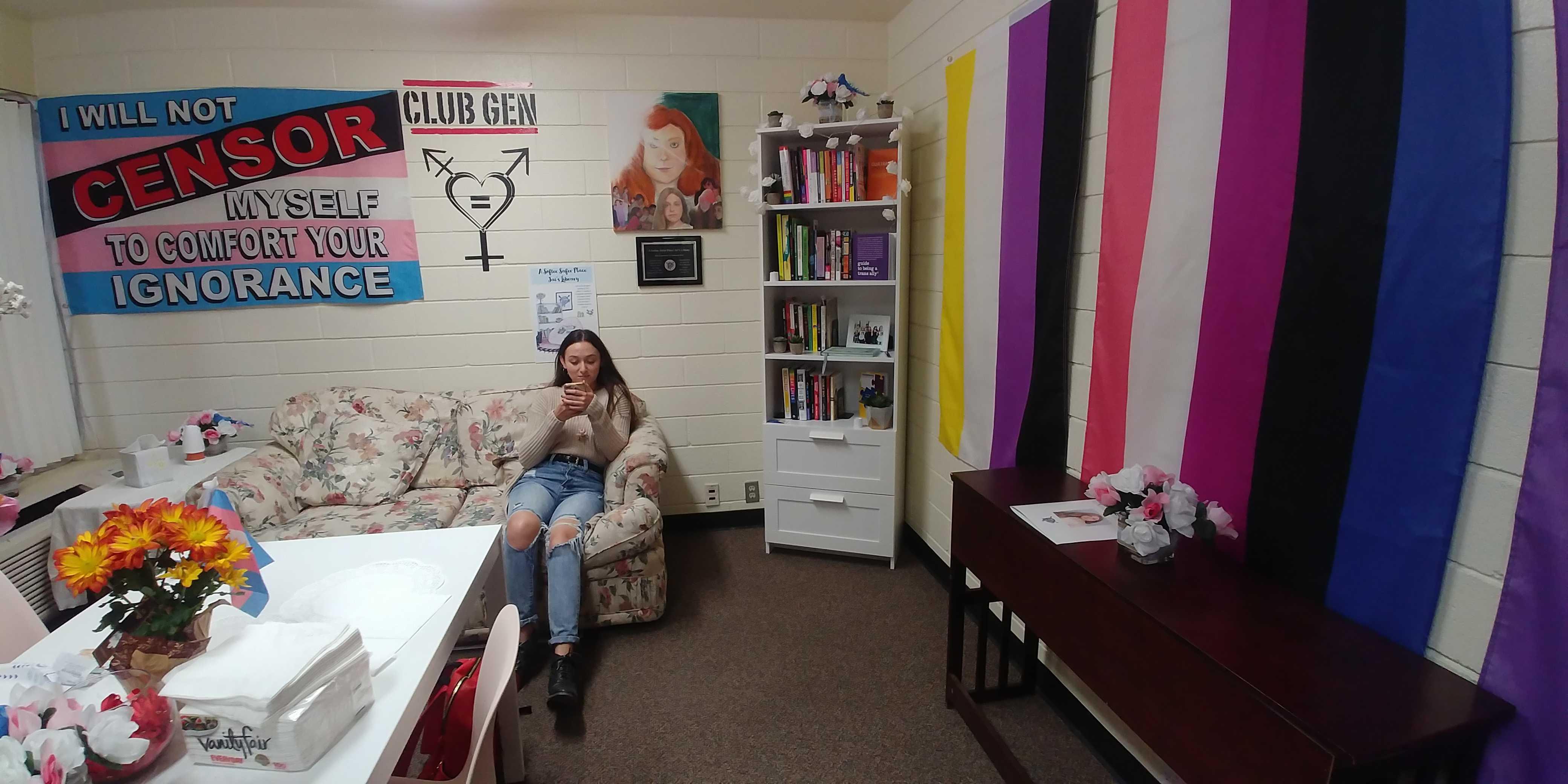 Club Gen battles transphobia