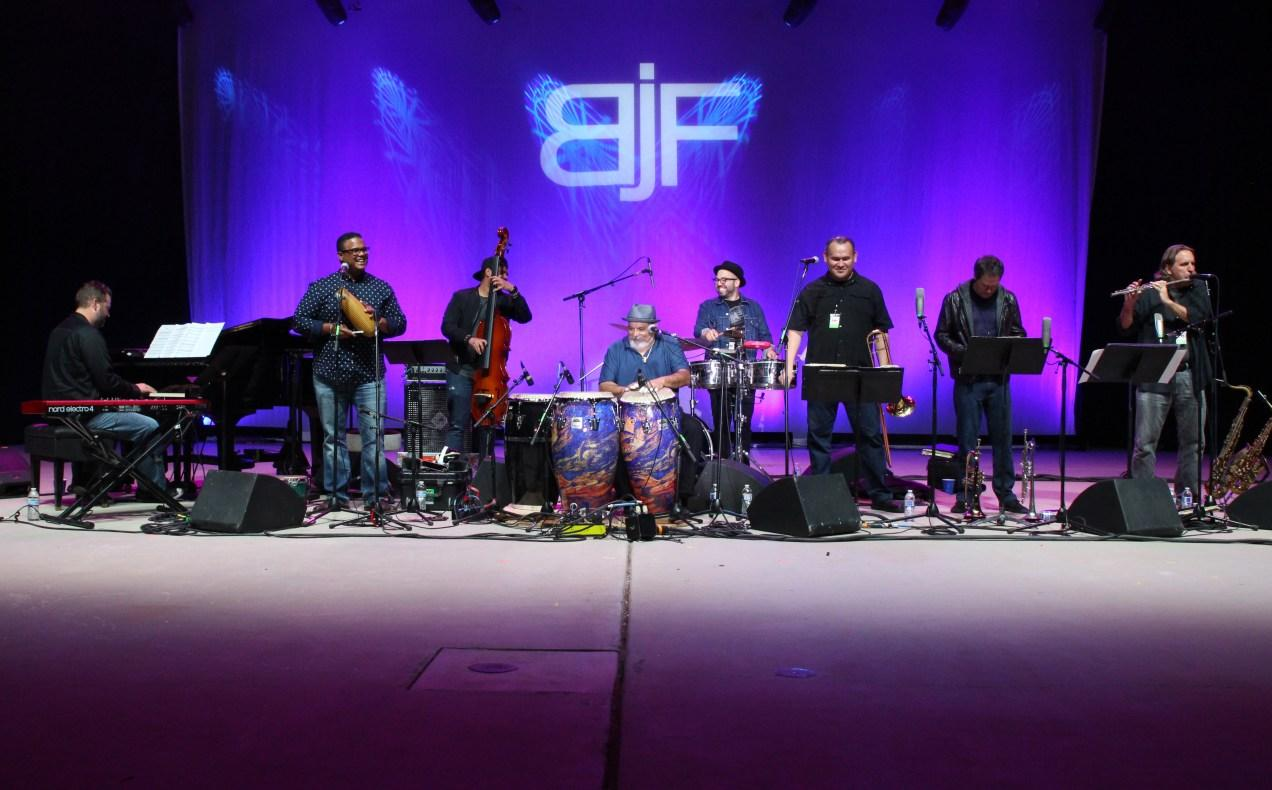The Poncho Sanchez Band headlines day two of the 2018 Bakersfield Jazz Festival. Photo by Richard Gonzales / The Runner