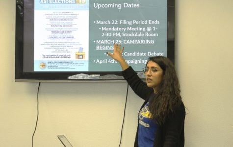ASI candidates learn to campaign