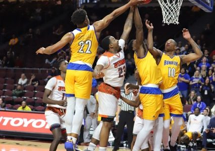 CSUB Men's Basketball fall in first round of WAC Tournament