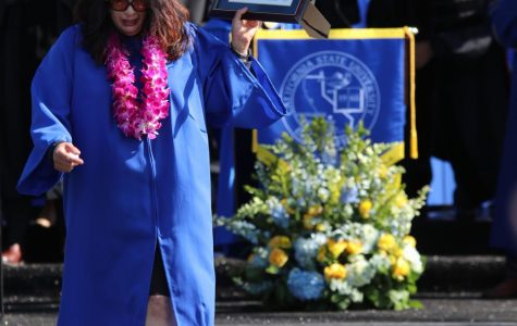 Dominguez remembered at CSUB graduation
