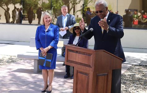 Former CSUB presidents honored during Zelezny's investiture week