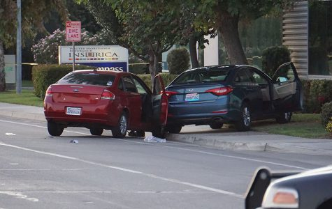 Breaking News: Shooter dies after car crash across from CSUB