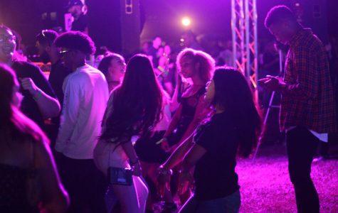 Bright lights shine at Runner Nights