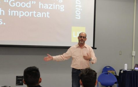 David Stollman speaks about the dangers of hazing
