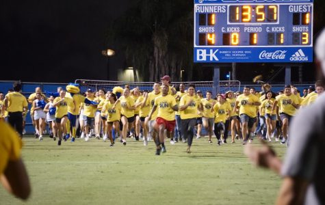 Annual Rowdy Run held during Women's soccer game