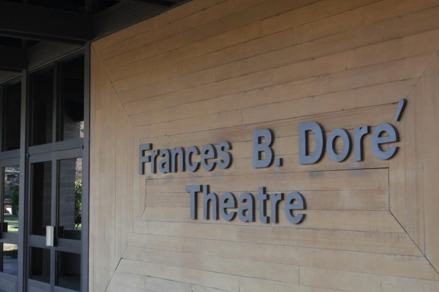 The+front+sign+entrance+of+the+Dore+Theatre+located+on+the+north+east+side+of+the+%0ACSUB+campus+photographed+on+November+21%2C+2019.%0A