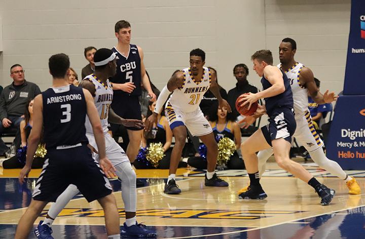 CSUB men's basketball narrowly loses to Cal Baptist University